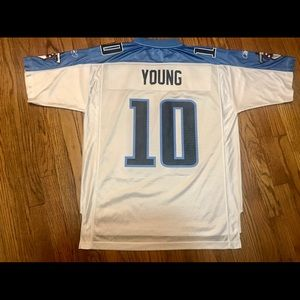 Reebok Vince Young Tennessee Titans Jersey